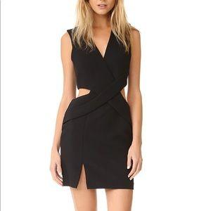 Kendall + Kylie Deep Plunge Cutout Dress